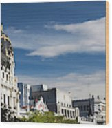 Spain, Madrid, Centro Area Wood Print