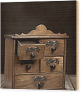 Spice Cabinet Wood Print
