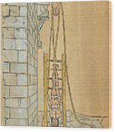 Spine Treatment, 1544 Wood Print