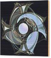 Spinners 7 Wood Print