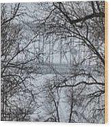 Sky Bridge Wood Print