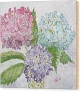 Spring Bouquet Wood Print