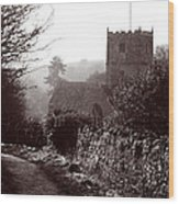 St Andrew's Church Clevedon Wood Print