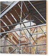 St. Charles Church - Karlskirche - In Vienna Wood Print