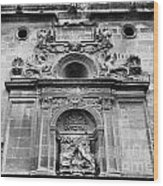 St Jeronimo Door Granada Cathedral Wood Print