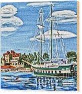 St Lawrence Waterway 1000 Islands Wood Print