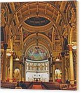 St. Leonard's Church....boston Wood Print