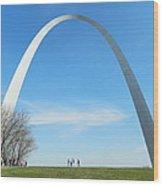 St. Louis Arch Wood Print
