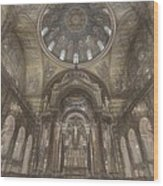 St. Louis Missouri Cathedral Basilica Wood Print