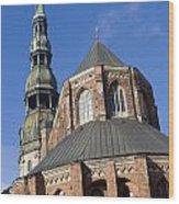 St. Peter's Church Riga Wood Print