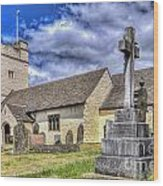 St Sannans Church Bedwellty 2 Wood Print
