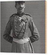 Stage German Officer Wood Print