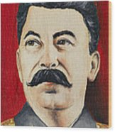 Stalin Wood Print