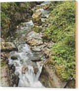 Stanghe's Waterfalls Wood Print
