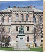 Statue Of Bishop Strossmayer Wood Print