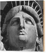 Statue Of Liberty Wood Print by Retro Images Archive