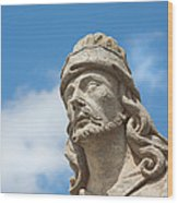 Statues Of Prophets Wood Print