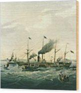 Steamship Wood Print