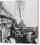 Steamship 'great Eastern Wood Print