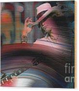 Steven Tyler  Wood Print