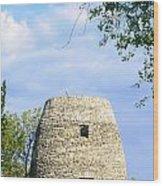 Stone Tower Wood Print