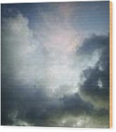 Storm Clouds Wood Print