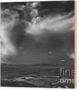 Storm Over The Kittitas Valley Wood Print