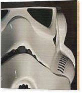 Stormtrooper Helmet Wood Print