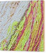 Strands Of Fresh Water Pearls Store Wood Print