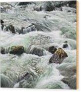 Stream Great Smoky Mountains  Wood Print