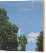 Sts-132 Liftoff 1 Wood Print