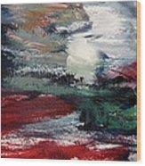 Sun And Sea Wood Print