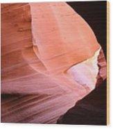 Sunlit Canyon Wood Print