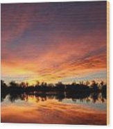 Sunrise 7 Wood Print
