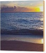 Sunset Over Boca Grande  Florida Wood Print by Fizzy Image