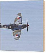 Super Marine Spitfire Mk Ix Wood Print