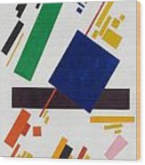 Suprematist Composition Wood Print