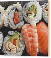 Sushi Wood Print