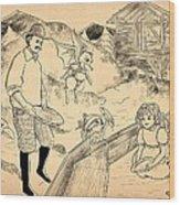 Sutter's Mill Wood Print
