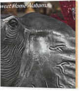 Sweet Home Alabama Wood Print by Kathy Clark
