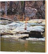 Sweetwater Creek Wood Print