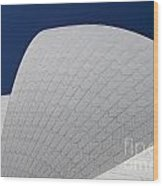 Sydney Opera House Roof Tiles Wood Print