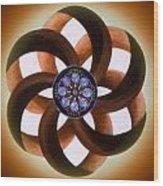 Synergy Mandala 2 Wood Print