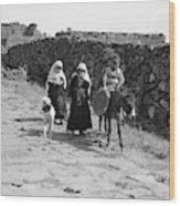 Syria Druze Children, 1938 Wood Print