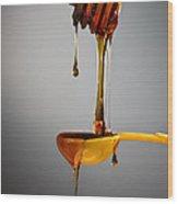 1 T. Honey Wood Print