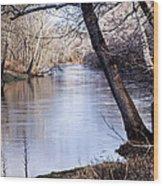 Take Me To The River Wood Print
