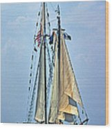 Tall Ship Harvey Gamage Wood Print