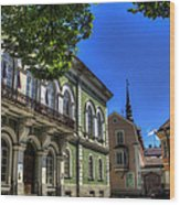 Tallin - Estonia Wood Print