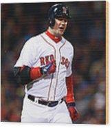Tampa Bay Rays V Boston Red Sox Wood Print