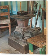 Taxidermy At The Holzwarth Historic Site Wood Print